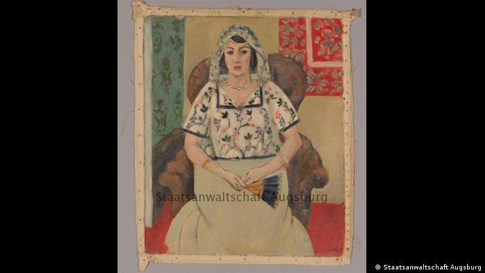 Sitting Woman by Henri Matisse