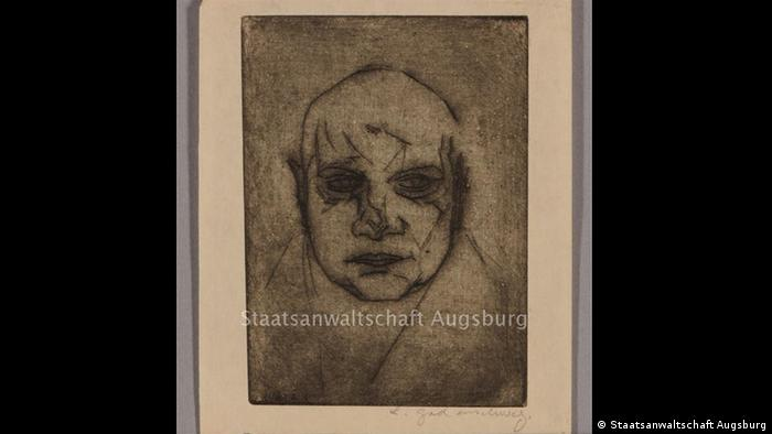 'Male Portrait,' Ludwig Godenschweg