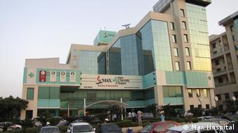 Max Hospital in New Delhi (photo: Max Hospital)