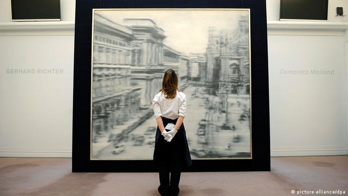 Gerhard Richter Domplatz Mailand