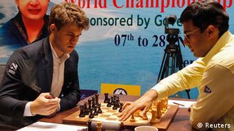 Indien Norwegen Schachweltmeisterschaft Magnus Carlsen