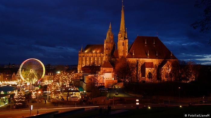 Ярмарка около Эрфуртского собора