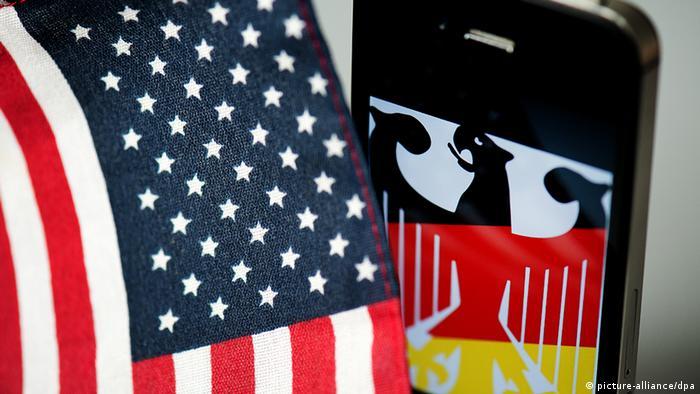 Deutschland Symbolbild Skandal um Spähaktion NSA-Geheimdienst