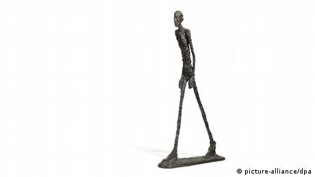 Alberto Giacometti Walking Man I' or 'L'Homme qui marche I (picture-alliance/dpa)