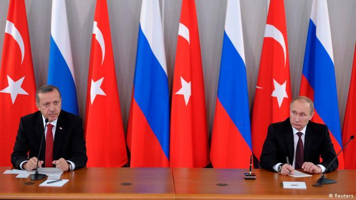Putin and Erdogan at a meeting in St. Petersburg in November 2013 Photo: REUTERS/Aleksey Nikolskyi/RIA Novosti/Kremlin