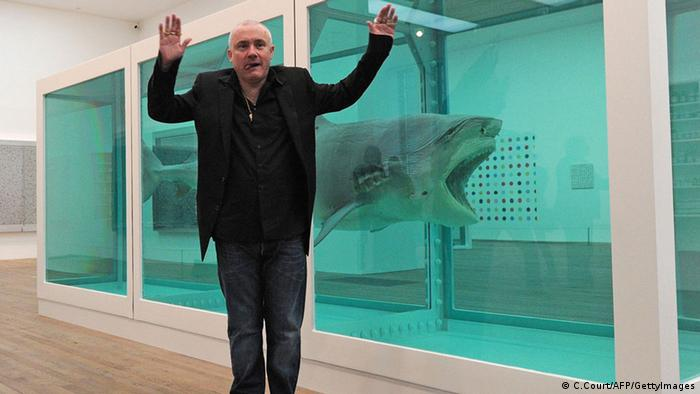 Damien Hirst (C.Court/AFP/GettyImages)