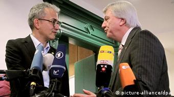 Volker Bouffier and Tarek Al-Wazir