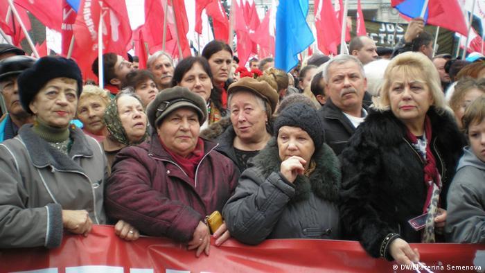 Proteste la Chişinău împotriva asocierii cu UE