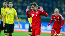 Fußball Bundesliga Borussia Dortmund FC Bayern München Götze Tor