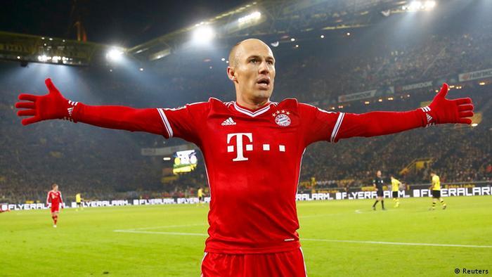 Fußball Bundesliga Borussia Dortmund FC Bayern München Robben Tor (Reuters)