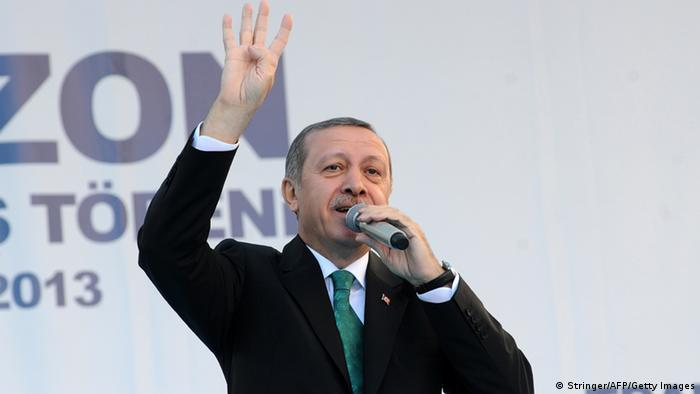 Türkei Erdogan Mursi Salut