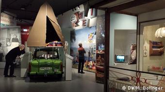 Haus der Geschichte Berlin exhibition, Everyday Life in the GDR, Photo: DW/M. Bölinger