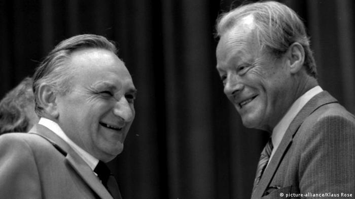 100 Jahre Willy Brandt Egon Bahr