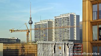 Construction site in Berlin-Mitte. (Photo: Jan Woitas pixel)
