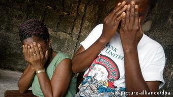 Symbolbild Vergewaltigung sexuelle Gewalt Afrika