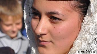 A young Circassian girl
