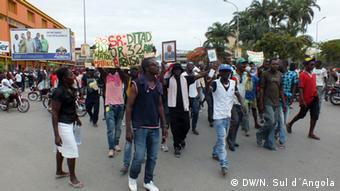 Angola - Demonstration in Benguela