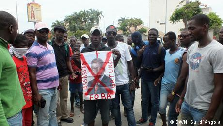 Protesters in Angola
