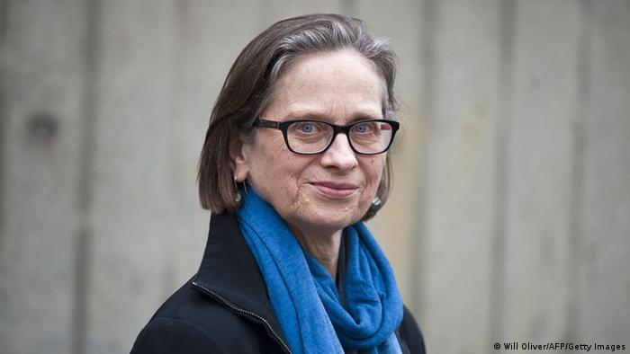 Portrait of US author Lydia Davis, winner of the Man Booker International Prize (Photo: Will Oliver)