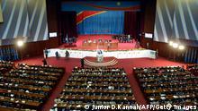 Demokratische Republik Kongo Parlament Kinshasa