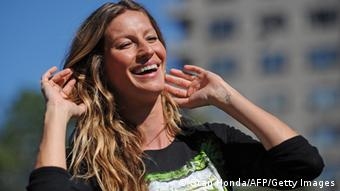 Gisele Bündchen, Copyright: STAN HONDA/AFP/Getty Images