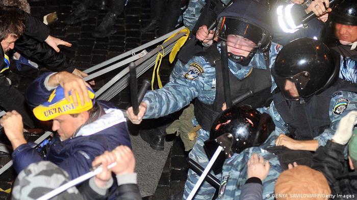 Protest Ukraine EU Integration 25. Nov. 2013