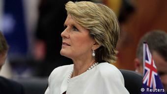 Australien Aussenministerin Julie Bishop Nov. 2013
