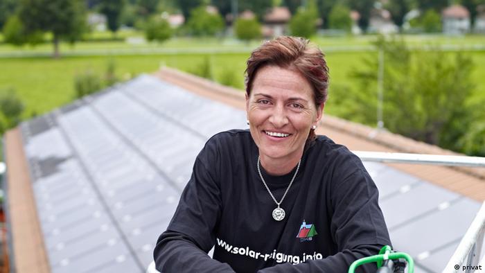 Sylvia Höhentinger Solarreinigung