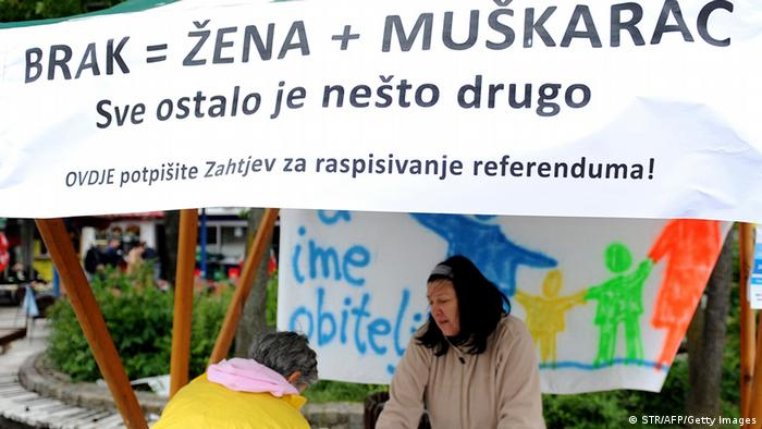 Kroatien Referendum Ehe 23.05.2013