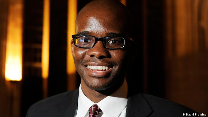 Nigeria's Tope Folarin, winner of the 2013 Caine Prize