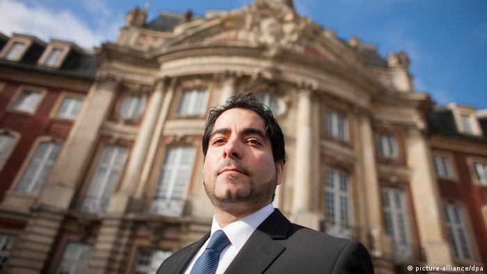 Mouhanad Khorchide Porträt Leiter des Zentrums für Islamische Theologie Münster Deutschland 2013