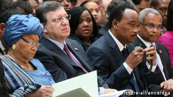 Europäische Entwicklungstage Barroso und Sierleaf 26.11.2013