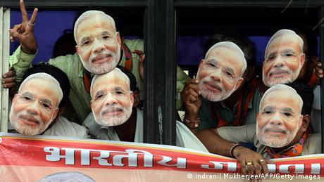 Indien Wahlkampf Narendra Modi