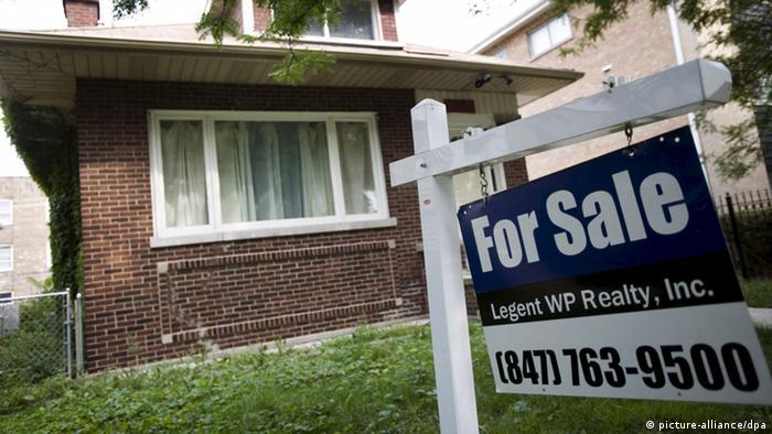 Häuser stehen zum Verkauf in Chicago
