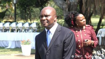 Walter Chidhakwa, Federal Zimbabwean Mines Minister.