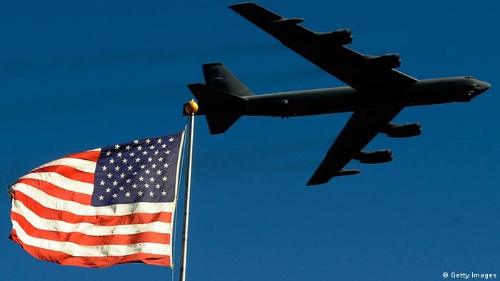 Устаревший бомбардировщик B-52