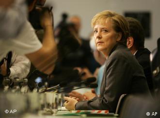 Merkel is holding her own in untested waters