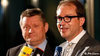 Große Koalition CDU und SPD einigen sich 27. Nov. 2013 Dobrindt und Gröhe