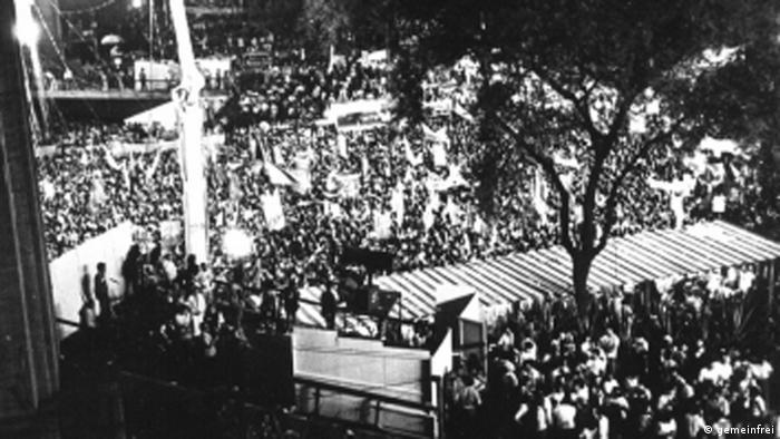 Demonstration Sao Paulo, 1984 (photo: gemeinfrei)