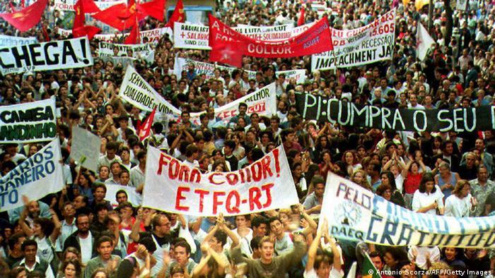 Bildergalerie Brasilien 30 Jahre Demokratiebewegung