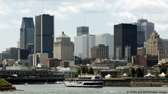Skyline of Montreal, Canada Photo: KAREN BLEIER/AFP/Getty Images
