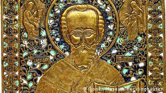 Святой Николай. Бронзовое литье. Москва, XIX век