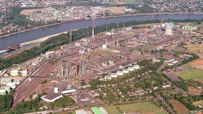 НПЗ Shell у Весселінґу - тут буде найбільша у світі установка P2G з виробництва водню