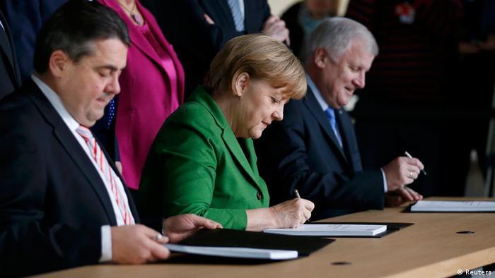 Große Koalition CDU und SPD einigen sich 27. Nov. 2013 Koalitionsvertrag