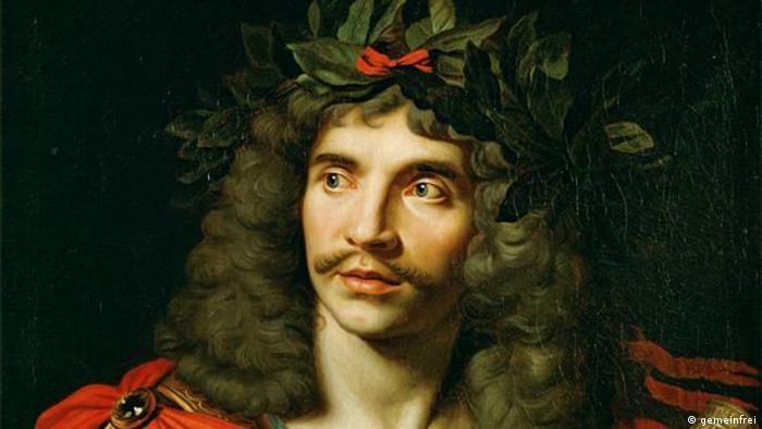 Portrait of Molière (gemeinfrei)