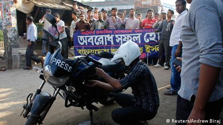Proteste gegen Wahl in Bangladesh