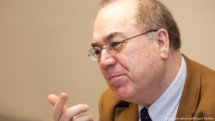 Prof. Bassam Tibi wykładał na Uniwersytecie w Getyndze
