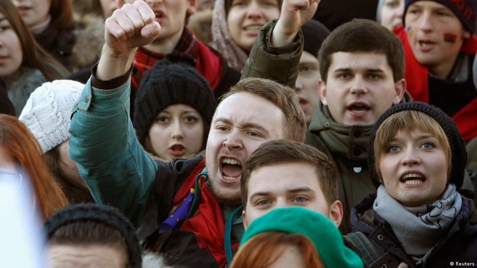 Frostige Begegnung in Vilnius | Europa | DW | 28.11.2013