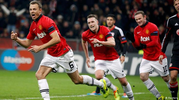 Champions League Bayer Leverkusen Manchester United