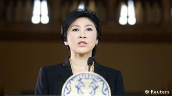 Thailands Premierministerin Yingluck Shinawatra (Foto: rtr9